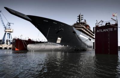 Photo superyacht Oceanco © Guillaume Plisson